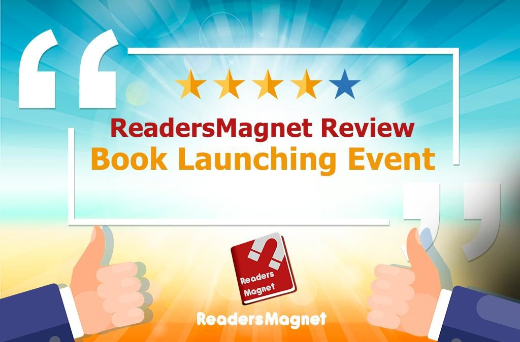 ReadersMagnet Review: Book Launching Event