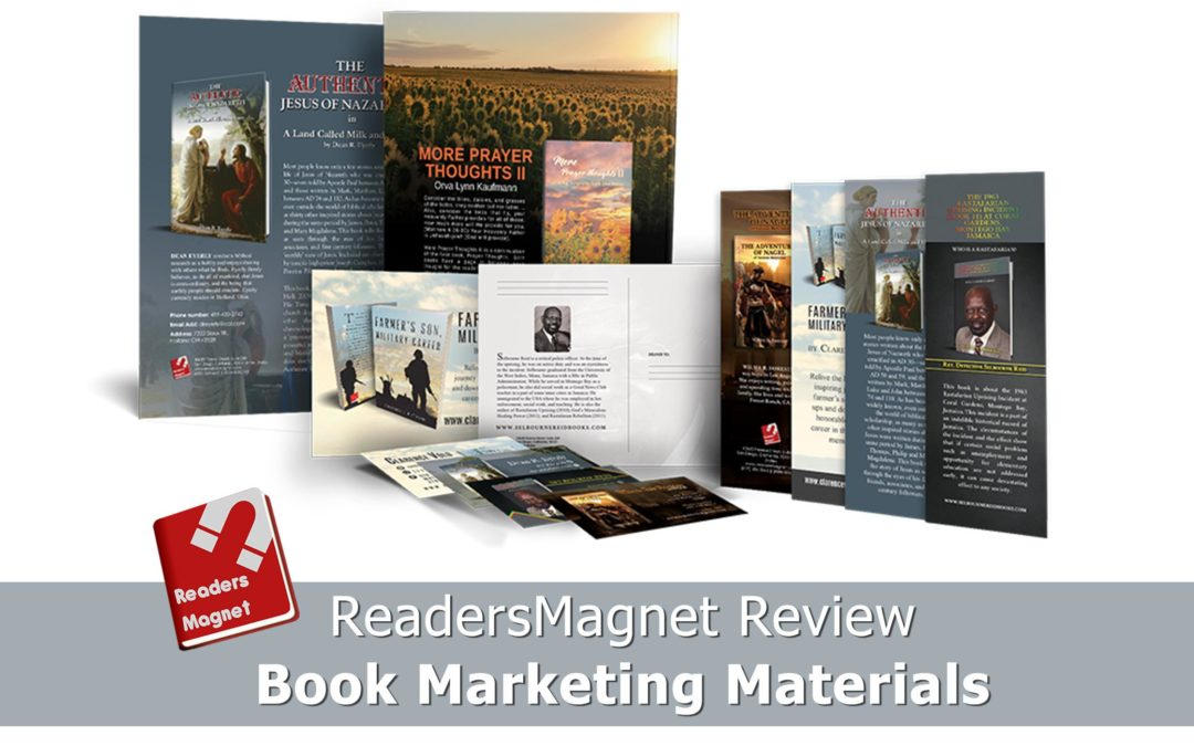 ReadersMagnet Review: Book Marketing Materials