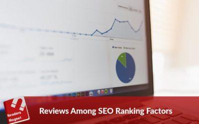 Reviews Among SEO Ranking Factors