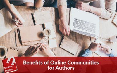 Benefits of Online Communities for Authors