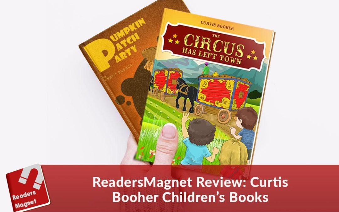 ReadersMagnet Review: Curtis Booher Children's Books