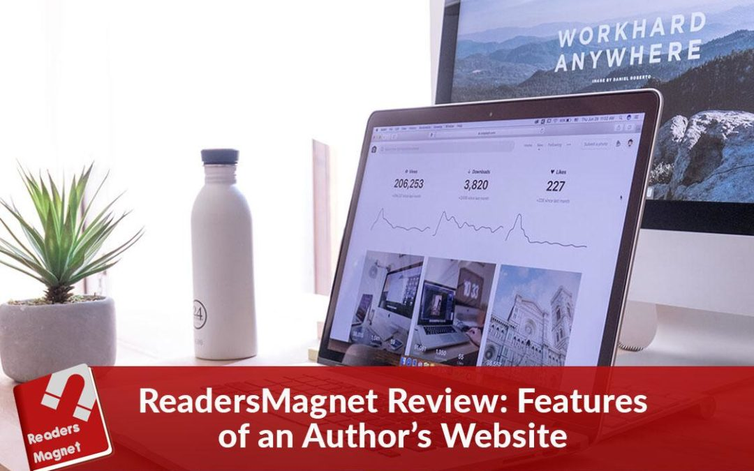 ReadersMagnet Review: Features of an Author's Website