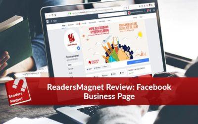 ReadersMagnet Review: Facebook Business Page