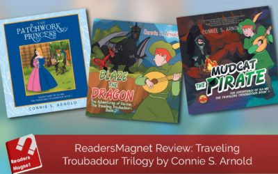 ReadersMagnet Review: Traveling Troubadour Trilogy by Connie S. Arnold