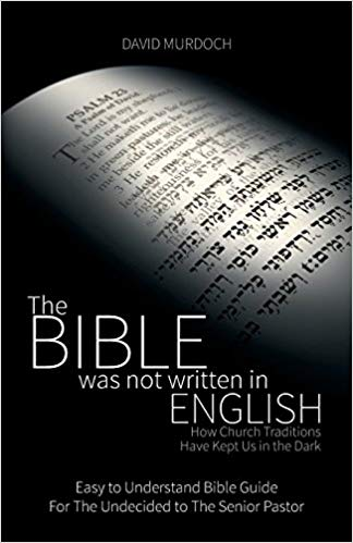 ReadersMagnet Review: Bible was not written in English book by Murdoch
