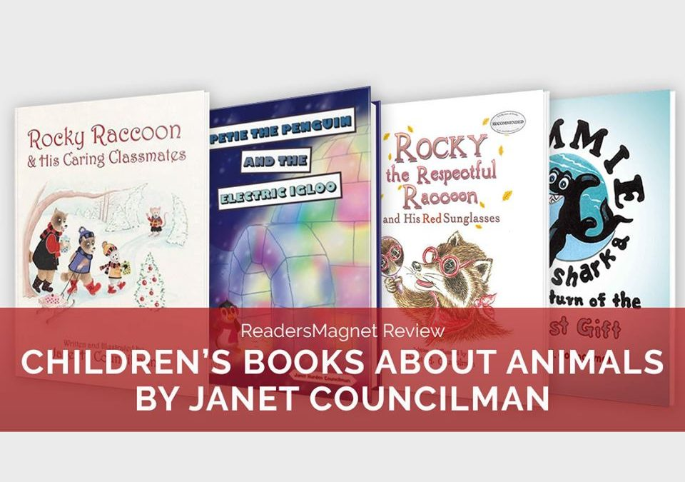 ReadersMagnet Review: Children's Books About Animals by Janet Councilman banner