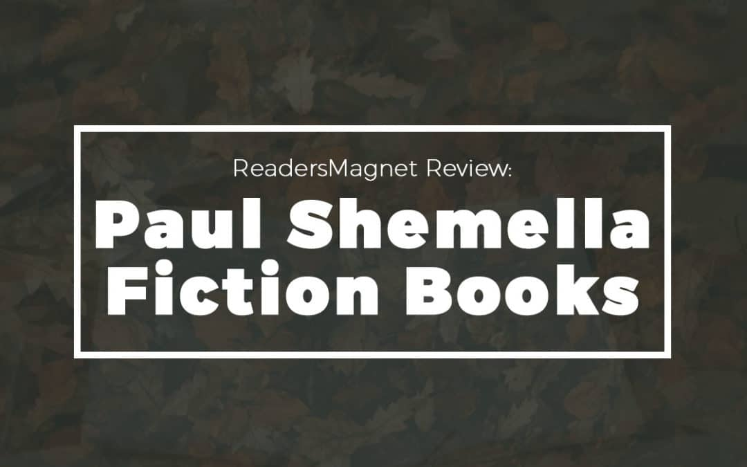 Paul Shemella Fiction Books banner