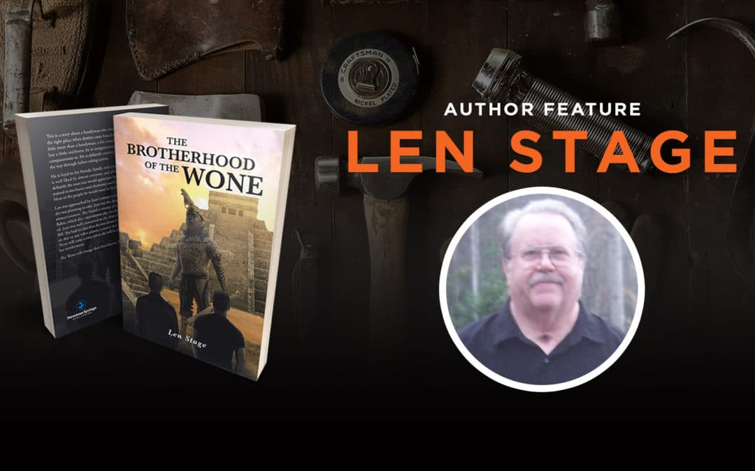 Author feature: Len Stage banner