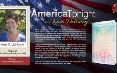 Author Alma C. Lightbody Chats with host Kate Delaney of America Tonight