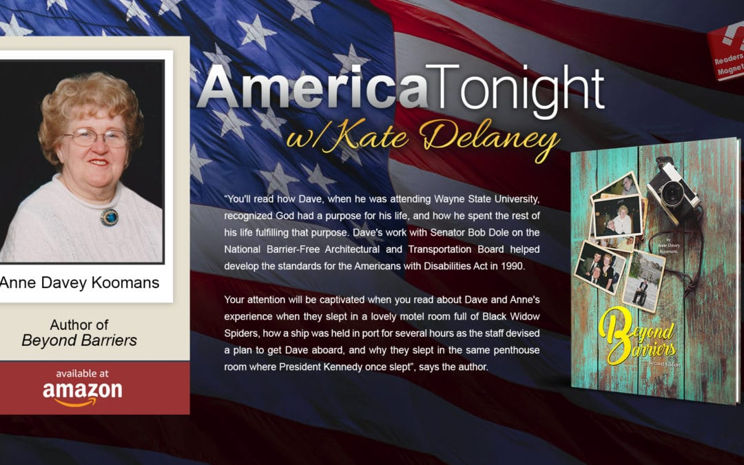Anne Davey Koomans Extols Her Polio-Stricken Husband's Legacy on America Tonight