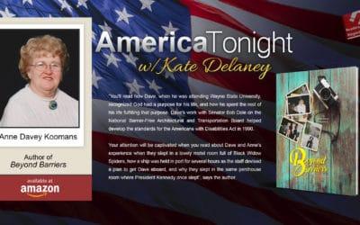 Anne Davey Koomans Extols Her Polio-Stricken Husband's Legacy on America Tonight