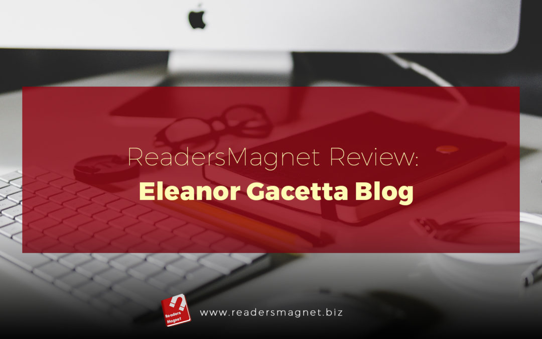 ReadersMagnet Review: Eleanor Gacetta Blog