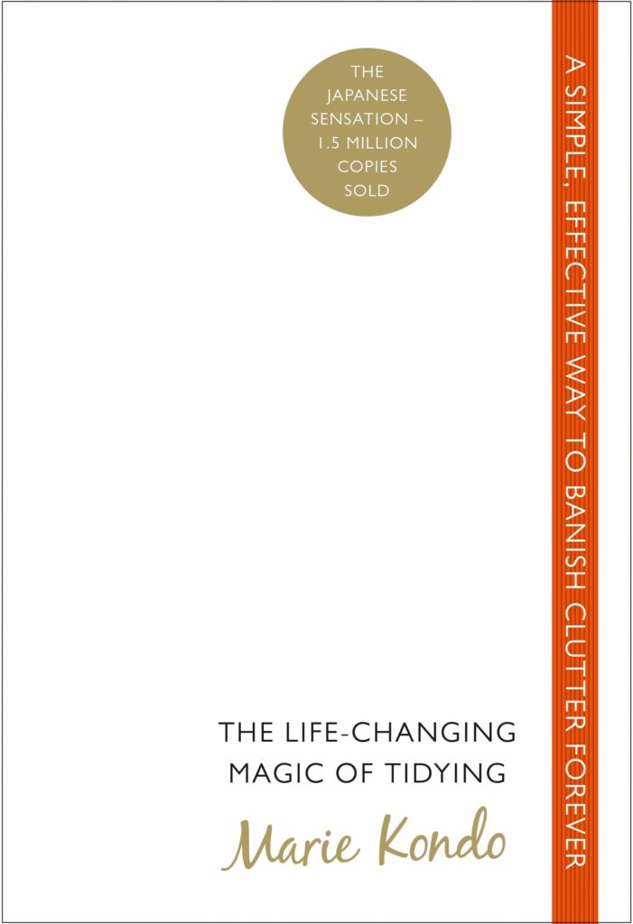 The Life Changing Magic of Tidying Up by Marie Kondo cover