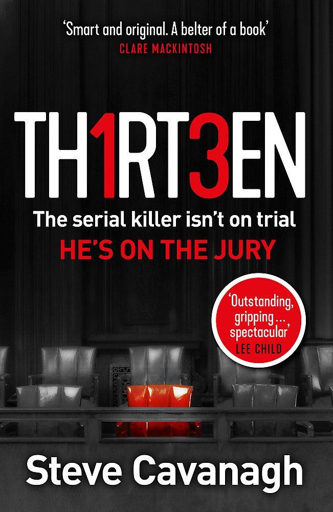 Thirteen by Steve Cavanagh cover