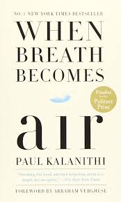 When Breath Becomes Air by Paul Kalanithi cover