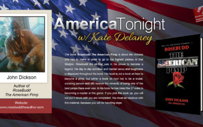 John Dickson aka RoseBudd guests on America Tonight with Kate Delaney