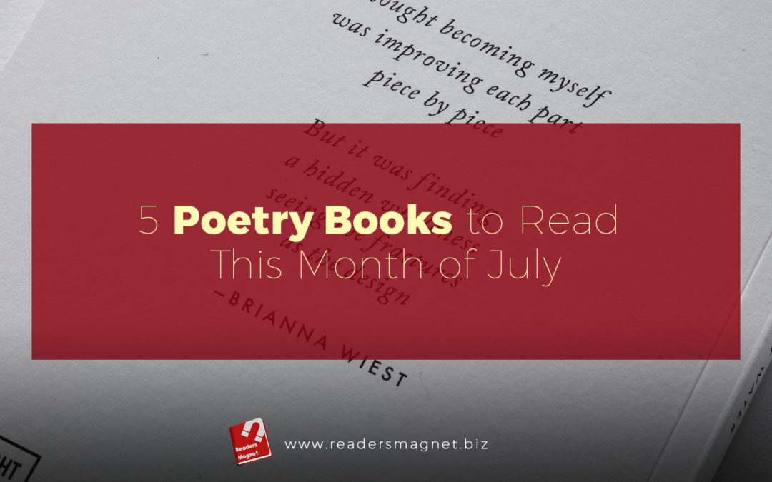 5 Poetry Books to Read This July