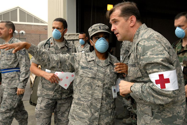 Pandemic response exercise in Eglinimage
