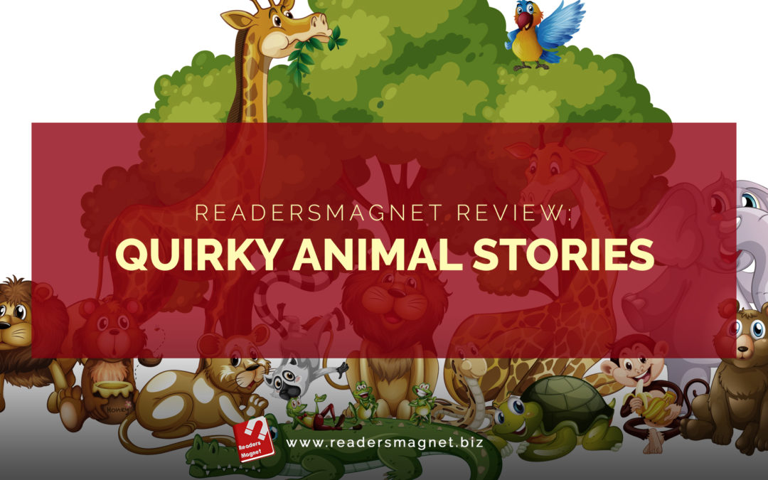 Quirky animal Stories banner