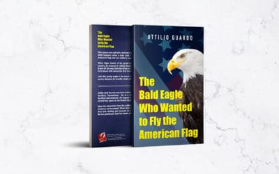 ReadersMagnet Review: The Bald Eagle Who Wanted to Fly the American Flag by Attilio Guardo