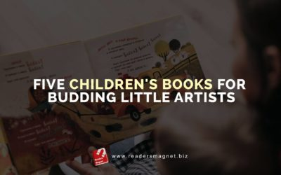 Five Children's Books for Budding Little Artists