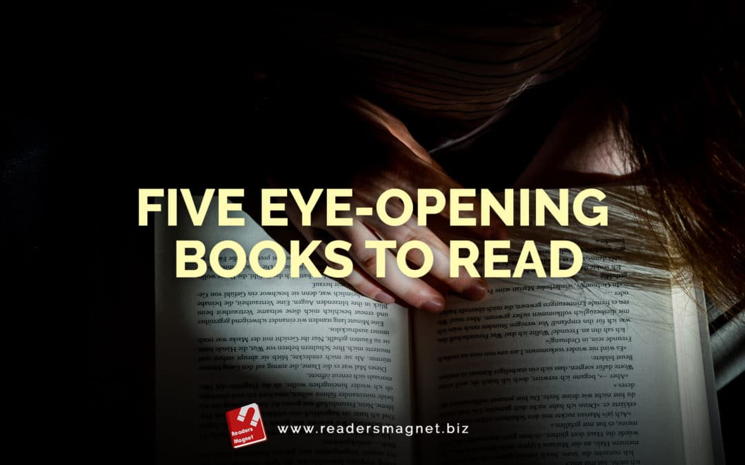 Five Eye-Opening Books to Read banner