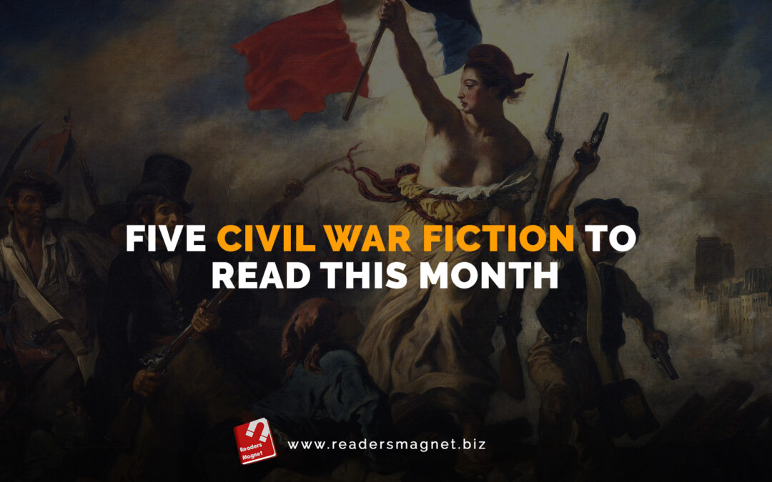 Five Civil War Fiction to Read This Month banner