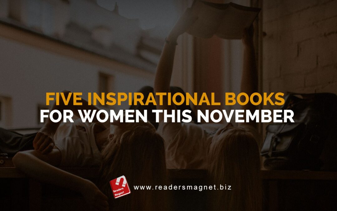 Five Inspirational Books for Women This November banner