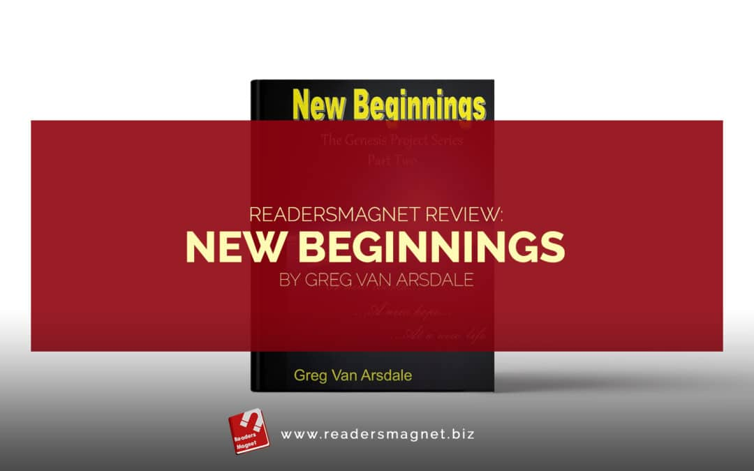 New Beginnings by Greg Van Arsdale book cover banner