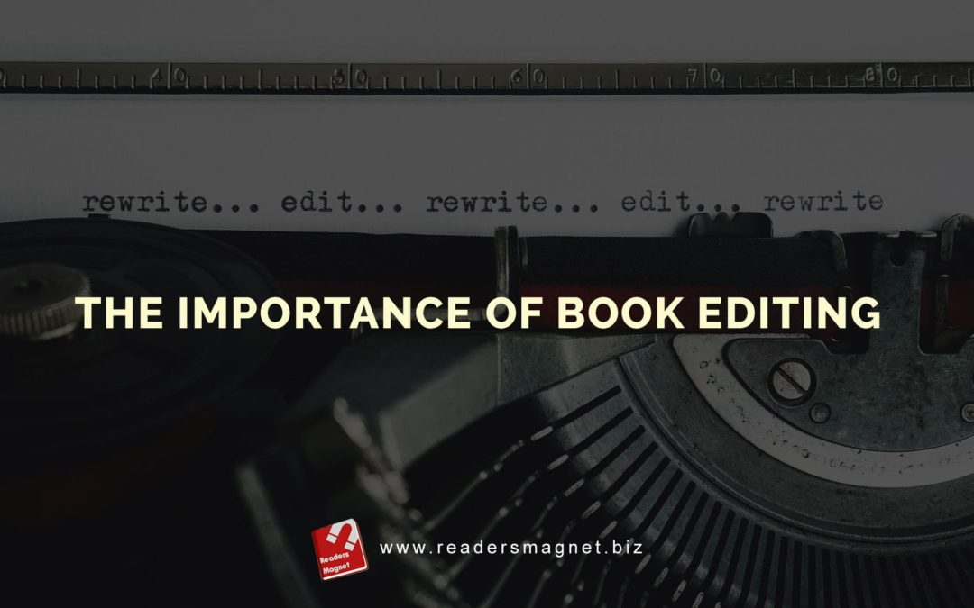 The Importance of Book Editing