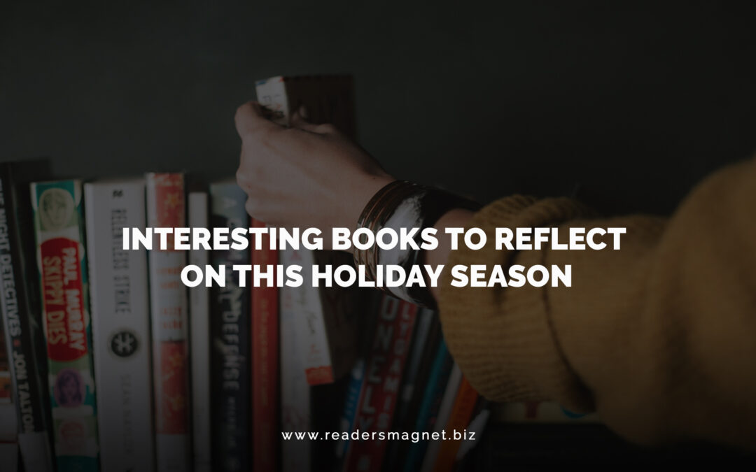 Interesting Books to Reflect on This Holiday Season banner