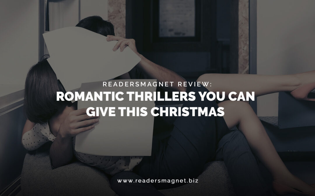 Romantic Thrillers You Can Give This Christmas banner