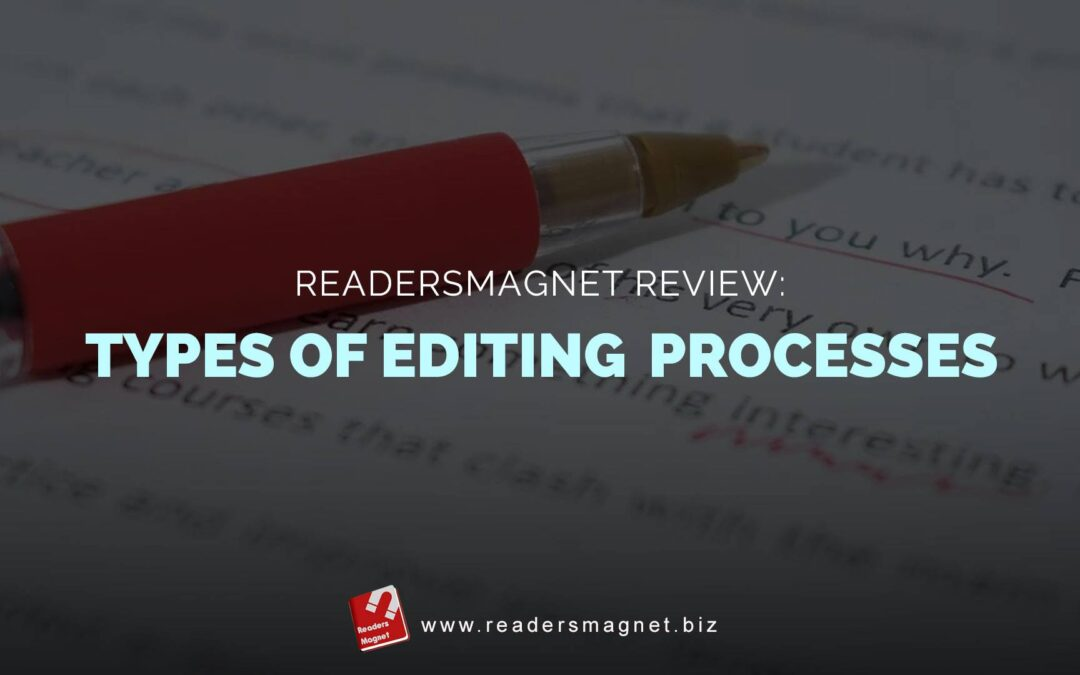 types of editing processes banner
