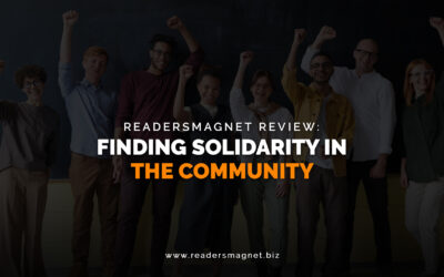 ReadersMagnet Review: Finding Solidarity in the Community