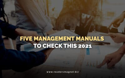 Five Management Manuals to Check this 2021