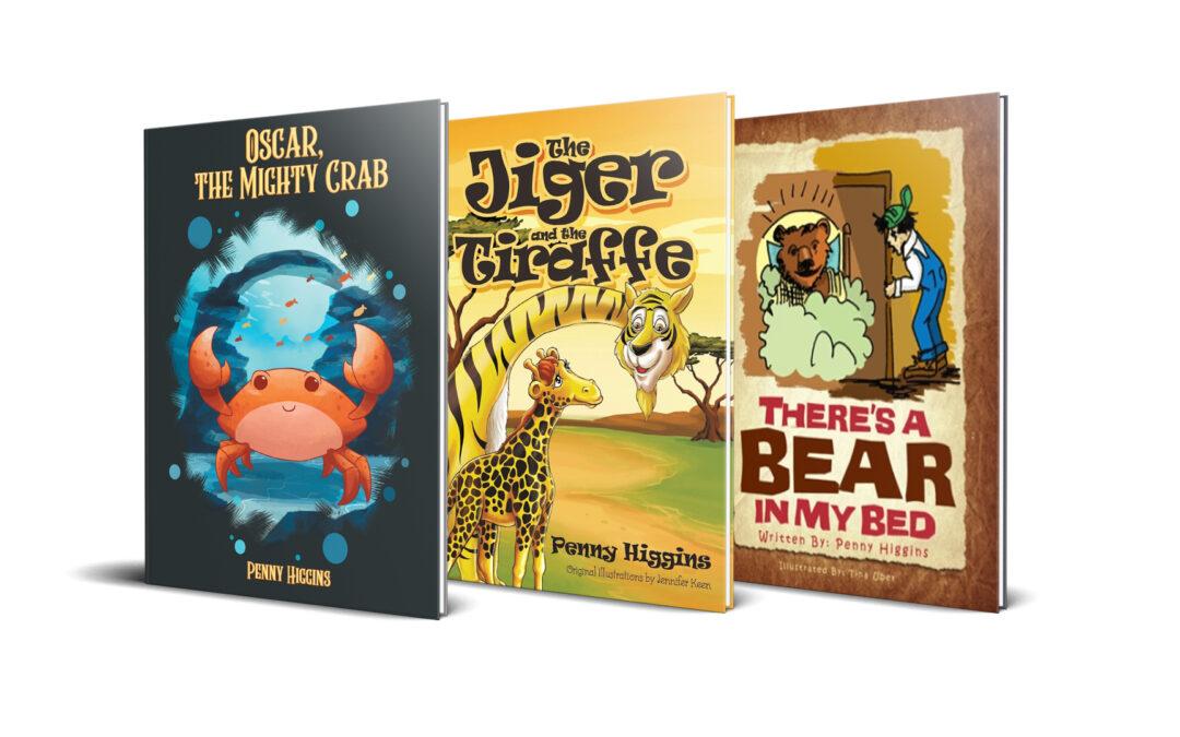 Penny Higgins Childrens Books banner