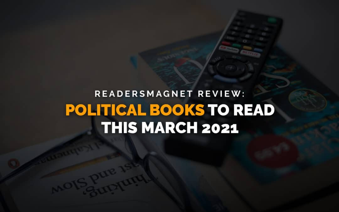 Political Books to Read this March 2021 banner