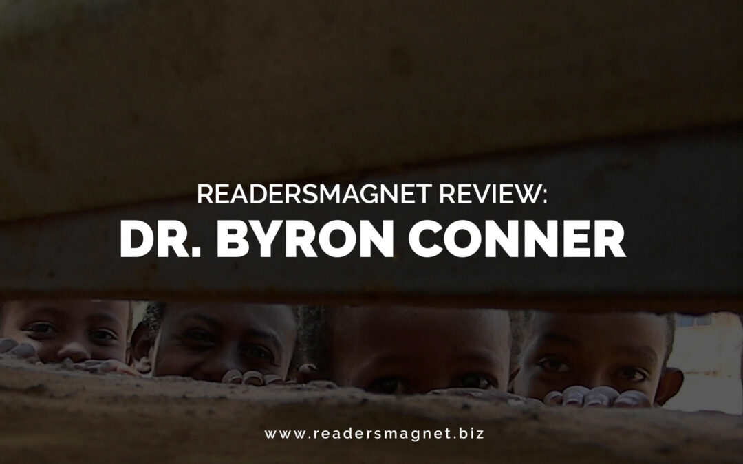 ReadersMagnet Review: Dr. Byron Conner