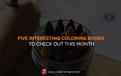 Five Interesting Coloring Books to Check Out This Month