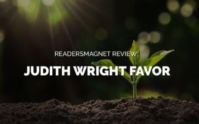 ReadersMagnet Review: Judith Wright Favor
