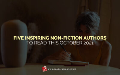 Five Inspiring Non-Fiction Authors to Read This October 2021